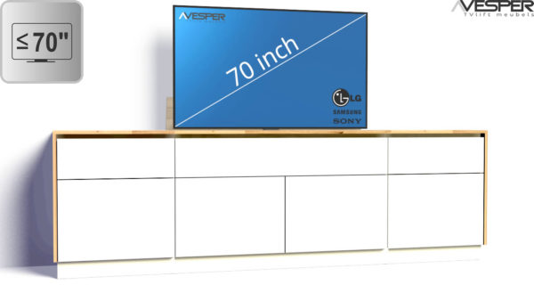 VESPER TV-lift meubels 70 inch TV's